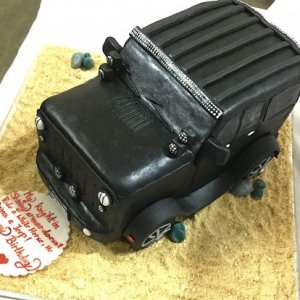 Jeep Theme Cake 2 Kg