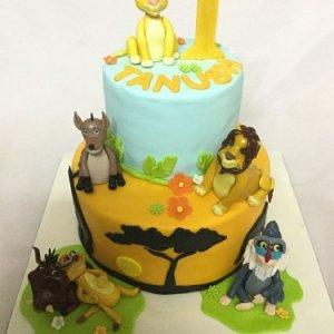 Lion King cake 2.5kgs