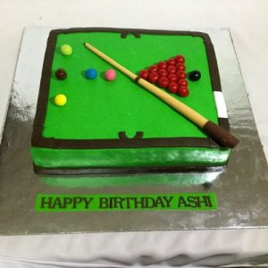 Pool theme Birthday Cake