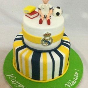 football cake 2kgs