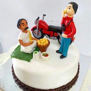 Gol Guppas Cake