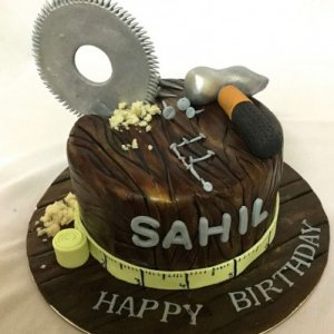 Carpenter Birthday Cake