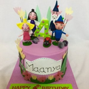 Ben and Holly Castle Birthday Cake