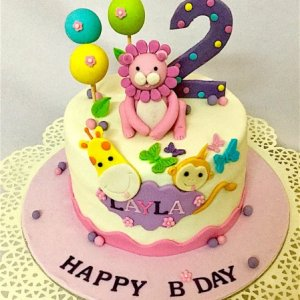 1st Birthday Animal Designer Cakes