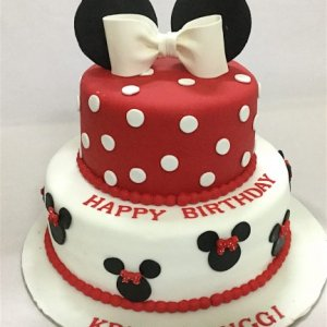 Mini Mouse for Birthday Cake