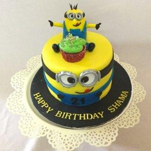 Happy Birthday Shama Cake
