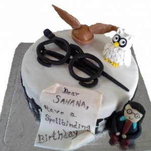 Harry Potter theme Birthday cake