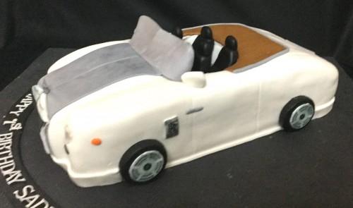 Royce Rolls Birthday Cake Order Online