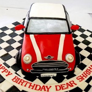 Mini Car Birthday Cake online