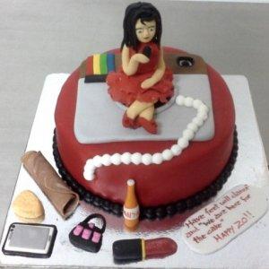 Instagram Selfie Cake Designer Birthday Cake
