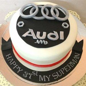 Audi Car Birthday Cake Order Online