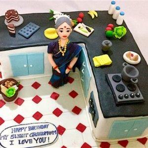 Birthday Cake Dear Grand MOM