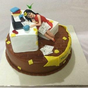 Workaholic cake