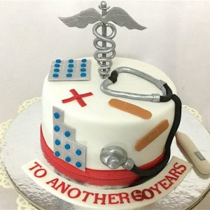 HBD Doctor Cake