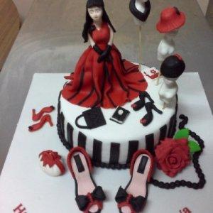Fashion Designer Birthday Cake