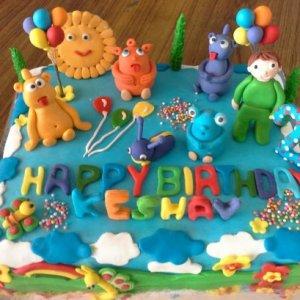 Birthday Party Designer Cake