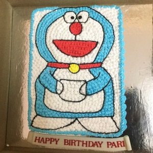 Doremon Birthday Cream Cake