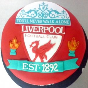 Liverpool Football club Birthday Cake
