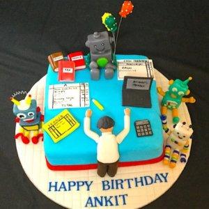 Entrepreneur Theme cake