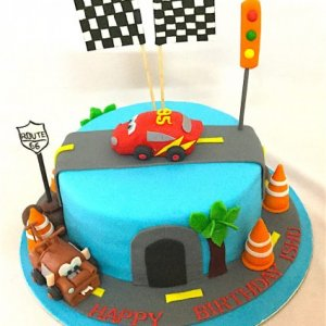 Birthday Cake Carz theme