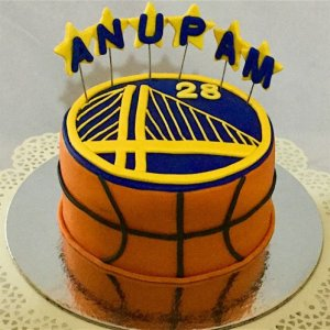 Basketball theme Birthday Cake