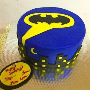 Jithu Batman Cake