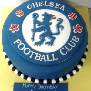 Chelsea Cub Designer Birthday Cake
