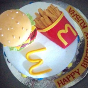 Mcdonalds Birthday Cake