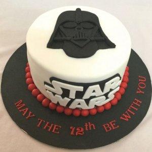 Death Vedar Birthday Cake
