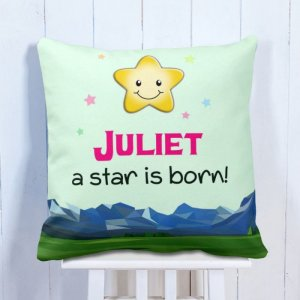 Personalised Cushion My Star Day