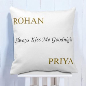 Personalised Cushion with a Sweet Message