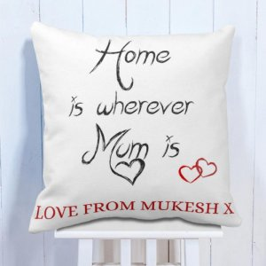 Personalise Cushion For Mum's