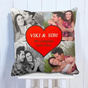 Personalised Cushion For Each Other