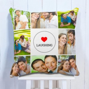 Personalised Laughter Cushion