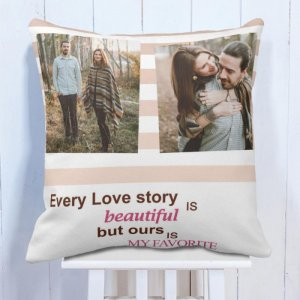 Personalised Cushion Love