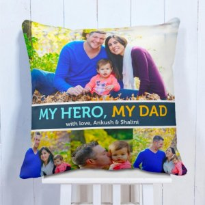 Personalised Cushion My Dad Love