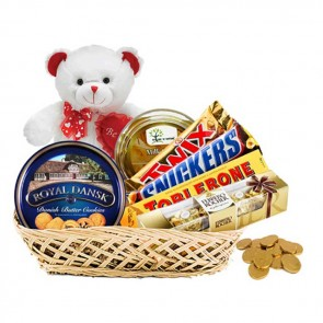Sweet Sensations Chocolate Gift Basket