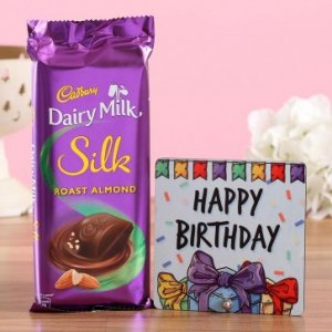 Silk Almond Birthday Wishes