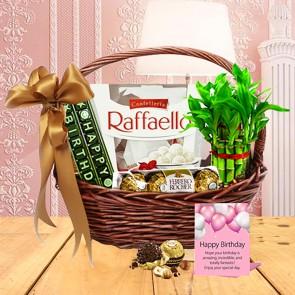 Birthday Delight Gift Basket