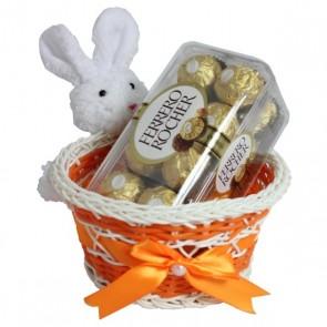 Yummy Basket Of Assorted Chocolates