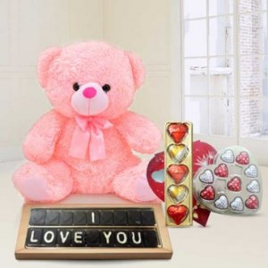 I Love You Chocolates Hamper