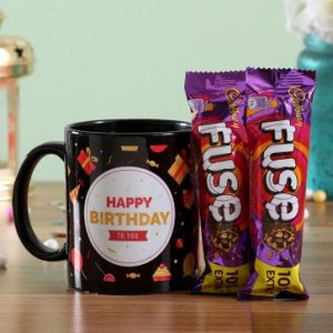 Birthday Wishes Mug Fuse Chocolates