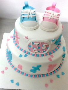 It's A Baby Shower Cake