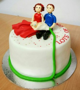 Lots of Love Baby Shower Cake