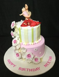 Love you Baby - Baby Shower Cake