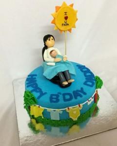 Love you Papa Birthday Cake