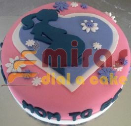 Mom to be Baby Shower Cake