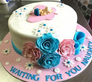 Waiting for you Baby Shower Cake