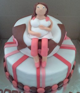 Baby Shower Cake-The Lady
