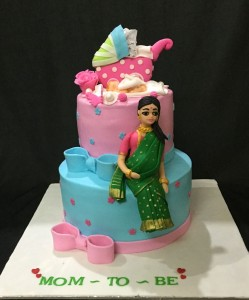 Baby Shower Ceremony cake